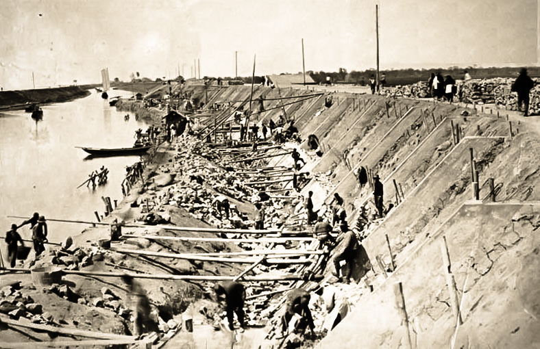 rebuilding grand canal 1933